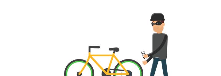 Dieb versucht Fahrrad zu klauen